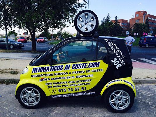 Neumáticos baratos madrid